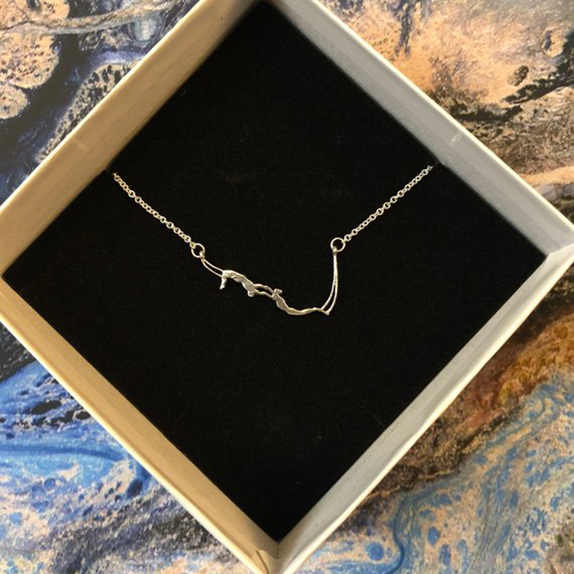 flying trapeze necklace