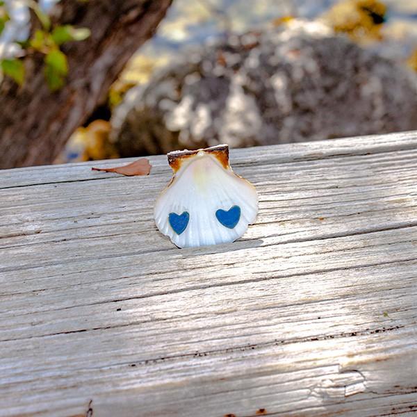 Small Heart Earrings | Enamel Earrings